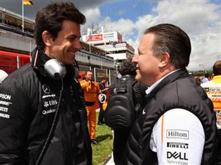 Вольфф: Ми не проти постачати двигуни McLaren