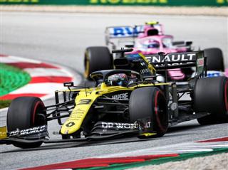 Ріккардо: Renault за темпом випереджає Ferrari