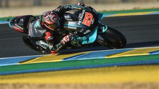 MotoGP. Куартараро виграв кваліфікацію у Франції, Россі - 10-й