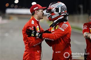 Феттель та Леклер пообіцяли працювати на команду на старті в Бахрейні