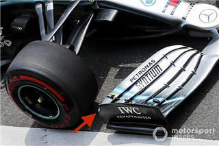FIA зобов'язала Mercedes змінити переднє антикрило
