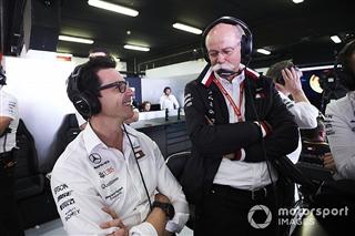 Вольфф: Цетше заслуговує на «всю пошану» за успіх Mercedes в Ф1