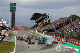 Mercedes знайшла проблему повільного старту Боттаса в Іспанії