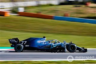 Боттас захопив лідерство на тестах Ф1 у Барселоні