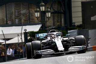 У Mercedes визнали складнощі з прогріванням гуми в Монако