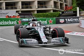 Гран Прі Монако: Хемілтон знову випередив Боттаса у тренуванні