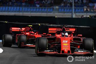 Ferrari випробує «тестові елементи» після невдачі з оновленням