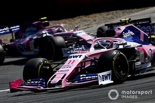 Racing Point сподівається на перелом ситуації після впровадження оновлень