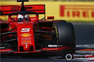 Феттель: Ferrari доволі далека від амбіцій контролювати хід гонок