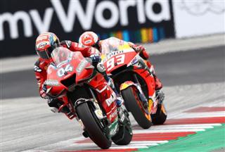 MotoGP. Довіціозо виграв гонку в Австрії, Россі - четвертий