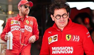 Бінотто: Феттель більше не перший пілот Ferrari