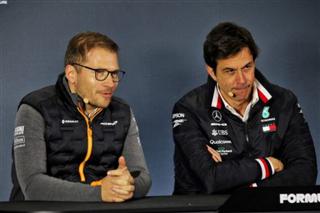 Шеф McLaren: Скандал з Racing Point не вплине на наші відносини з Mercedes