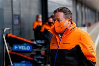 Браун: Поки McLaren нереально претендувати на титул