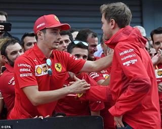 Гендиректор Ferrari: Феттель та Леклер мають однакові умови