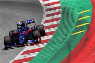 Албон: Етап у Британії має підійти Toro Rosso