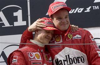 Баррікелло: Думаю, що Гамілтон кращий за Шумахера