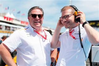 Шеф McLaren: Завдання Сайнса - шосте місце у чемпіонаті