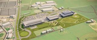 Aston Martin почав будувати свою нову базу в Британії