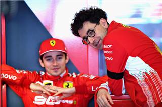 Бінотто: Разом з Леклером ми напишемо багато сторінок історії Ferrari