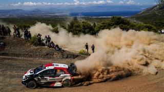 WRC. Рованпера виграв Ралі Греції, Ожьє став третім