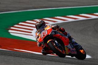 MotoGP. Маркес взяв поул у США, Россі одразу за ним