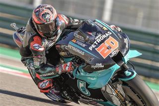 MotoGP. Куартараро на поулі в Арагоні, Россі не їздить через COVID-19