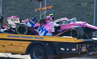 Шеф Racing Point: Шукаємо причину проколу колеса у Стролла
