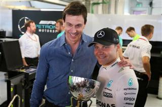 Вольфф: Місце в Mercedes - подарунок для Боттаса