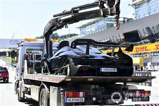 Бергер підпалив новий суперкар McLaren Senna в Австрії
