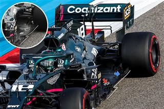 Технічний аналіз: як Aston Martin переробила днище до першого Гран Прі