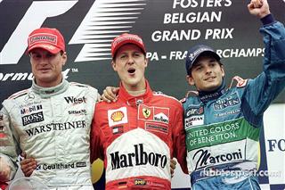Всі переможці та призери Гран Прі Бельгії з 2000 року