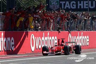 Галерея: всі перемоги Ferrari в Монці