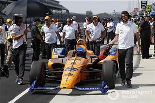 Норріс радий, що McLaren без скарг сприйняла невдачу на Інді-500