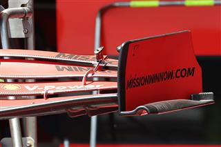 Технічний брифінг: переднє крило Ferrari SF21