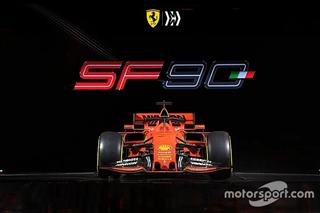 Галерея: болід Ferrari SF90 для сезону Формули 1 2019 року