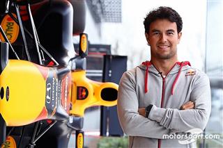 Перес провів перший робочий день у Red Bull