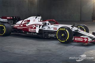 Alfa Romeo продемонструвала новий болід Формули 1