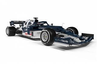 AlphaTauri показала болід для нового сезону Формули 1