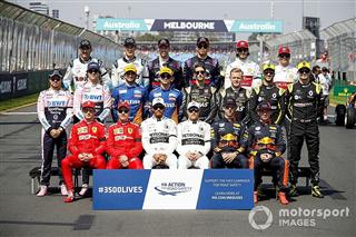 Галерея: 20 років Ф1 на групових фотографіях гонщиків