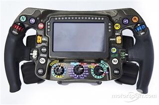 Розкрито: як працює кермо Mercedes в Ф1