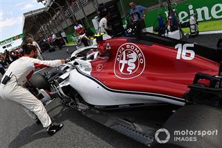 Sauber змінила назву на Alfa Romeo Racing
