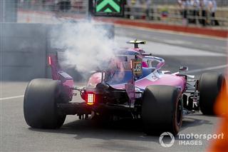 Оновлений двигун Mercedes вибухнув на боліді Стролла в Канаді