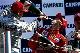 Всі переможці та призери Гран Прі Італії починаючи з 2000 року