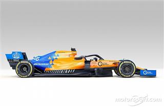 McLaren представила машину Ф1 на сезон-2019