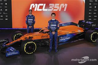 McLaren перша стайня Формули 1, яка представила болід для нового сезону