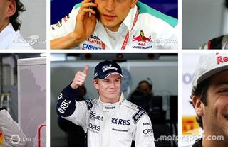Галерея: як змінювалися гонщики протягом своєї кар'єри в Ф1