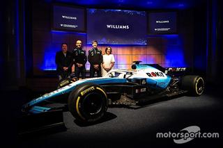 Williams представила ліврею машини Ф1 сезону-2019 і нового титульного спонсора