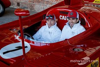 Райкконен та Джовінацці завітали на тестову трасу Alfa Romeo
