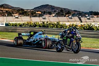 Ф1 иа MotoGP на одній трасі: світлини з заїздів Россі та Хемілтона