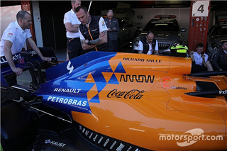 McLaren встановить нові двигуни Renault в Іспанії